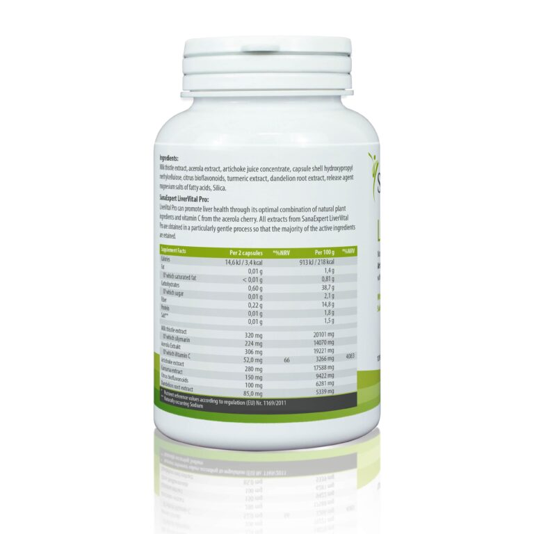 SanaExpert LiverVital Pro Ingredients