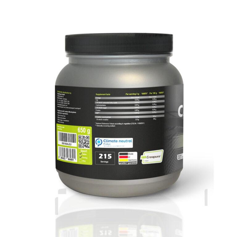 SanaExpert-Creatine Pro Ingredients